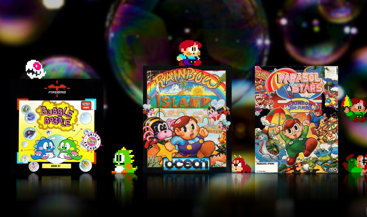 """Bubble Bobble"" from Taito"
