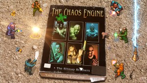 """The Chaos Engine"" from The Bitmap Brothers"