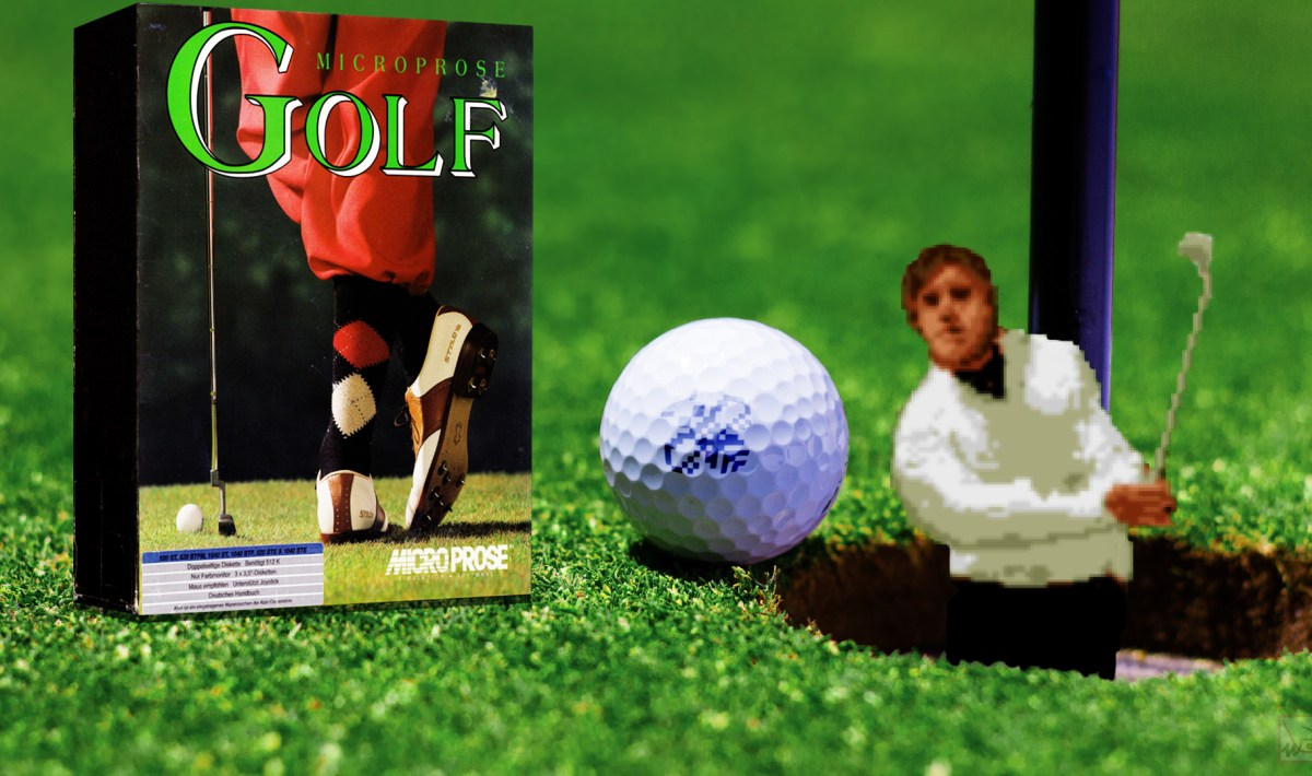 """Microprose Golf"" from Microprose"