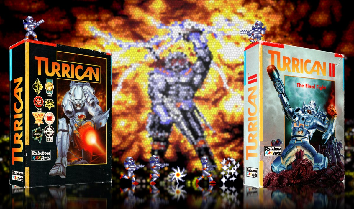 """Turrican 2"" from Rainbow Arts"