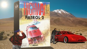 """Highway patrol 2"" from Microïds"