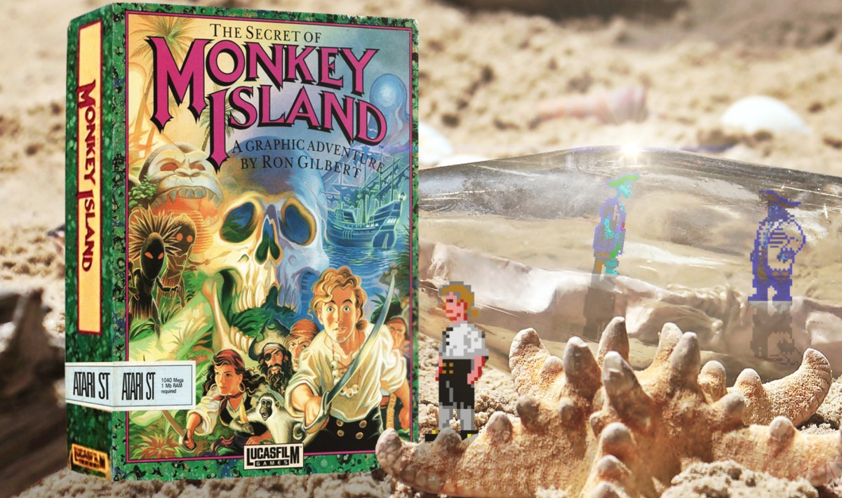 """Monkey Island"" from Lucasfilm Games"