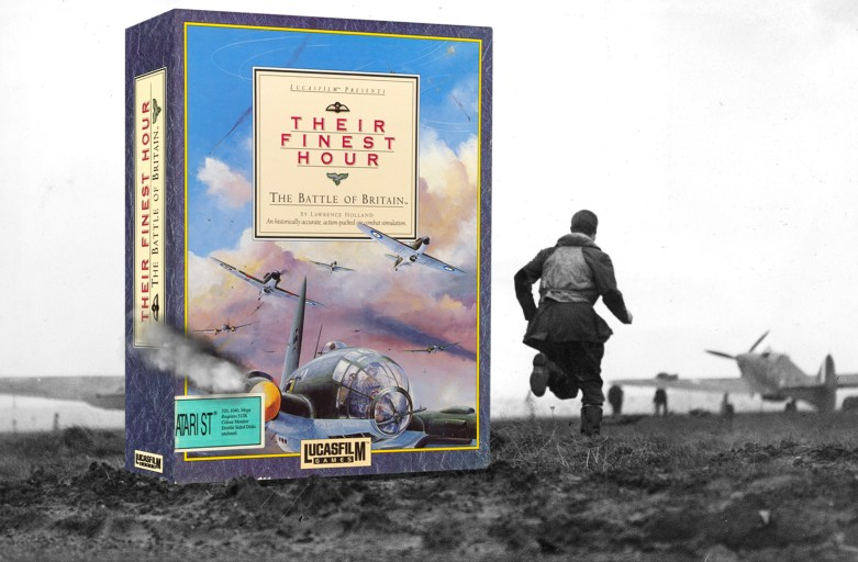"""Their finest hour - The Battle of Britain"" from Lucasfilm Games 2"