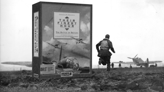 """""""Their finest hour - The Battle of Britain"""" from Lucasfilm Games"""