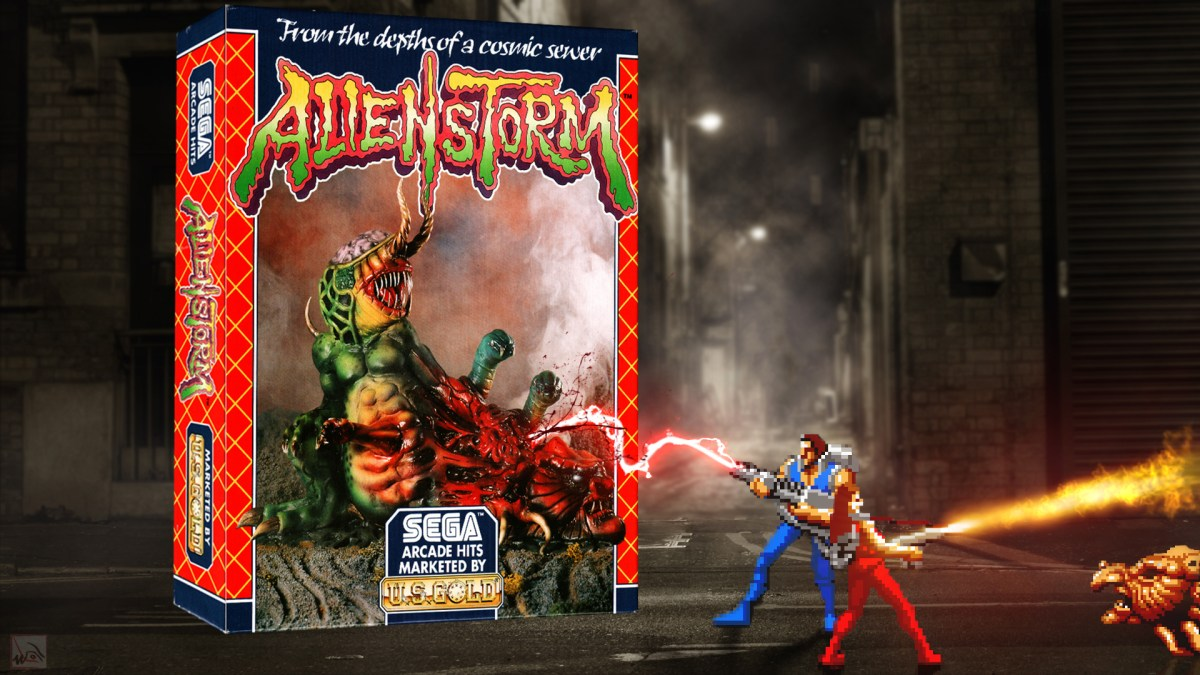 """""""Alien Storm"""" from US Gold"""