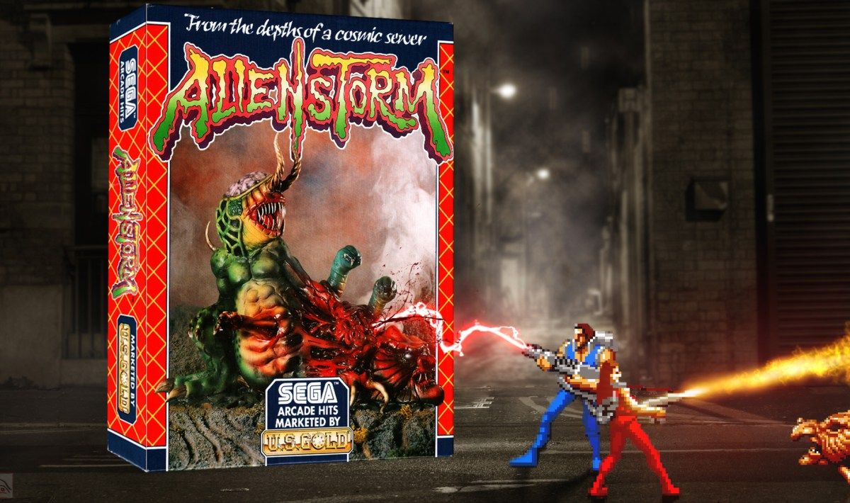 """Alien Storm"" from US Gold"
