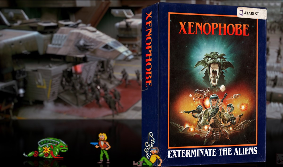 """Xenophobe"" from Micro Style"