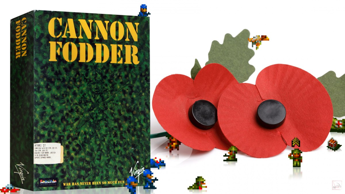 """Cannon Fodder"" from Sensible Software"