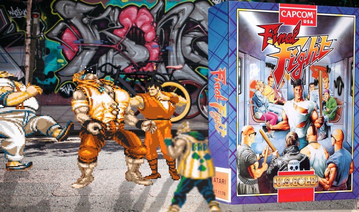"""Final Fight"" from Capcom"