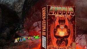 """Ultima III Exodus"" from Origin Systems"
