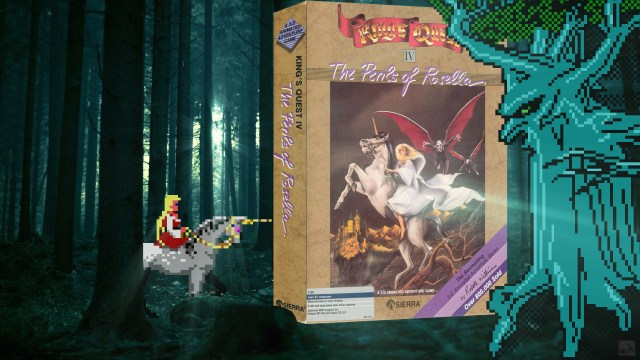 """King's Quest IV"" from Sierra-On-Line"