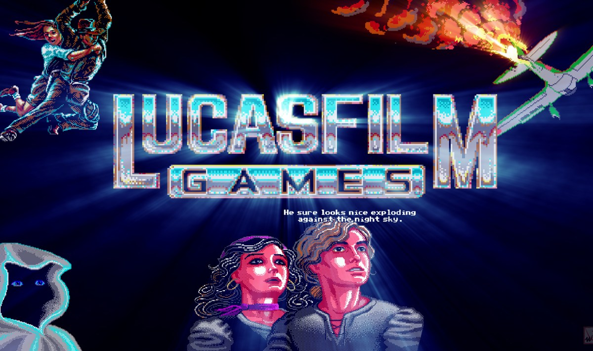 """LucasFilm Games"" on Atari ST"