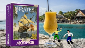 """""""Sid Meier's Pirates!"""" from MicroProse"""