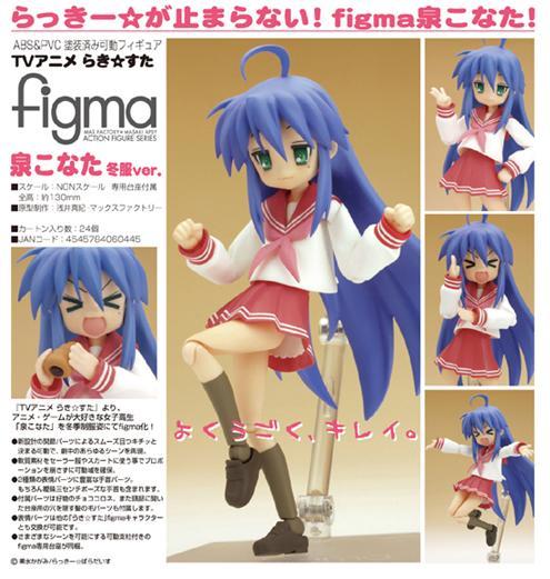 figma Izumi Konata (winter uniform ver.)