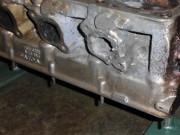 Avgaskanal Volvo Penta AQ151 efter svetsning