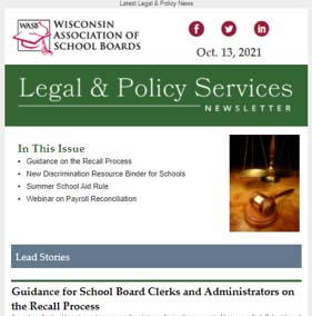 Legal and Policy Services Newsletter