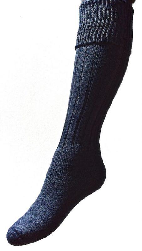 turn over top socks