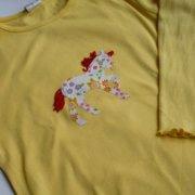 Kids Shirt, Pferd applizieren | waseigenes.com