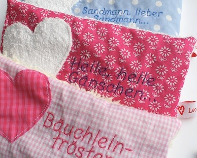 Bäuchleintröster - Rapskernkissen für Kinder   Heile heile Gänschen, Weißt Du wieviel Sternlein stehen   waseigenes.com Shop