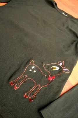 Shirts selber besticken | waseigenes.com 2009