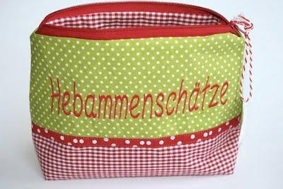 Hebammenschätze | Geschenk für die Hebamme | was eigenes Täschchen | www.shop.waseigenes.com