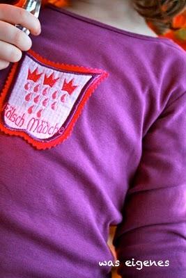 Kölsch Mädche | Kölsche Jung | gestickte Wappen © waseigenes.com