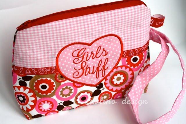 sew mama sew | Girls Stuff zip pouch | Schminktäschchen | Giveaway | waseigenes.com Blog & Shop