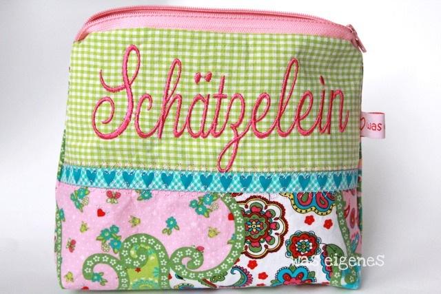 Schminktäschchen was eigenes   Worttäschchen   Schätzlein   schliebdisch   ich liebe dich   Shop & Blog