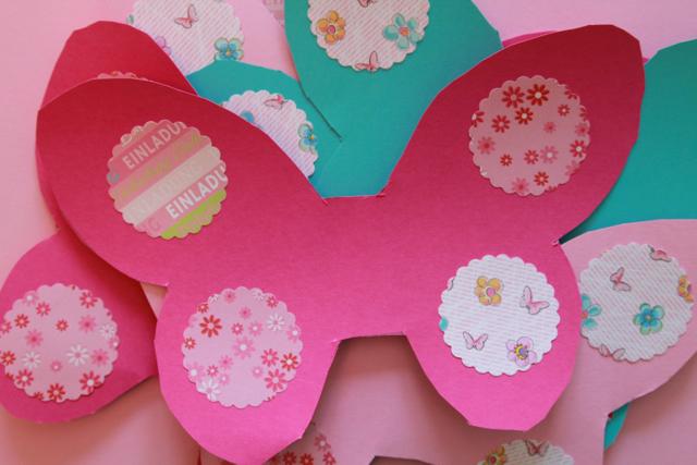 Diy Schmetterling Geburtstagseinladung