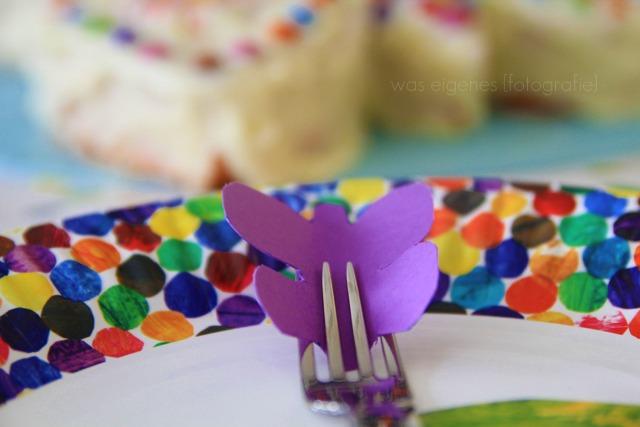 Rezept: Schmetterlingskuchen | Kuchen in Schmetterlingsform | Kindergeburtstag | Geburtstagskuchen | waseigenes.com