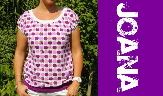 Joana Schnittmuster   Apfel Shirt   Shirt selbernähen    was eigenes Blog