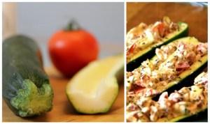 Gefüllte Zucchini / was eigenes Blog