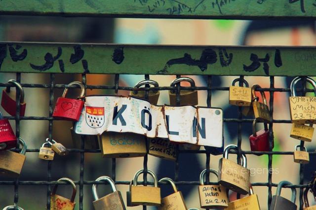 Köln   Kölner Liebeschlösser   Hohenzollernbrücke   waseigenes.com Blog