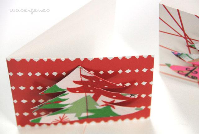 diy weihnachtskarten waseigenes