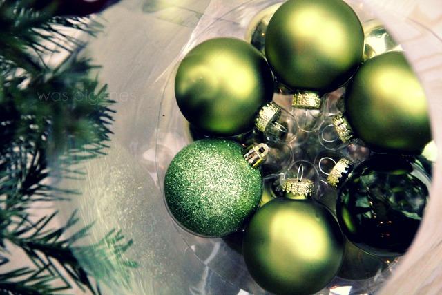 Weihnachtsdeko | Weihnachtsbaum abschmücken | waseigenes.com