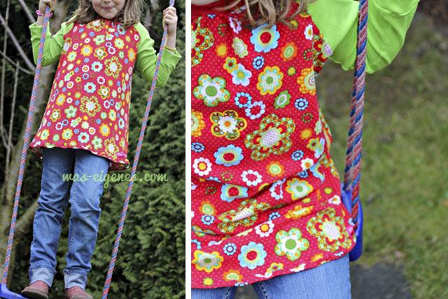 Carla Shirt | Mädchenshirt | selbernähen | Schnittmuster | was eigenes Blog