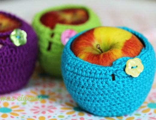 gehäkelte Apfelwärmer |Mollie Makes | waseigenes.com
