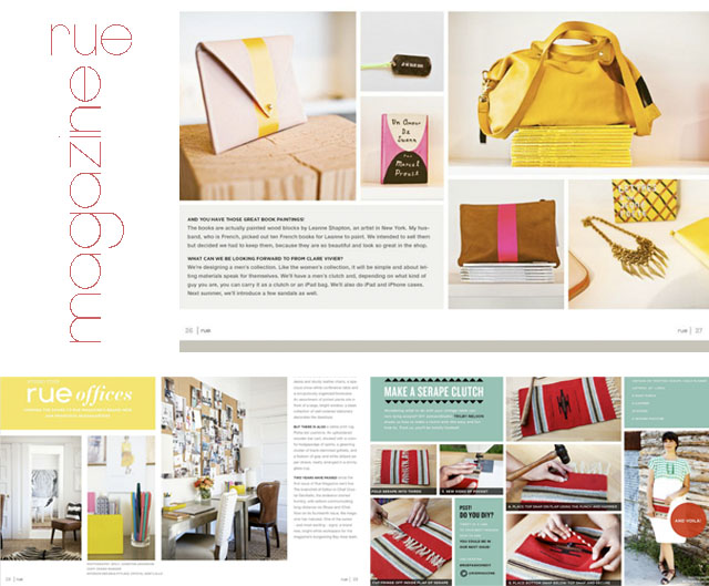 Rue Magazine | waseigenes.com