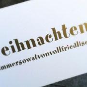 Köln: weihnachtenisimmersowatvonvollfriedlisch   waseigenes.com