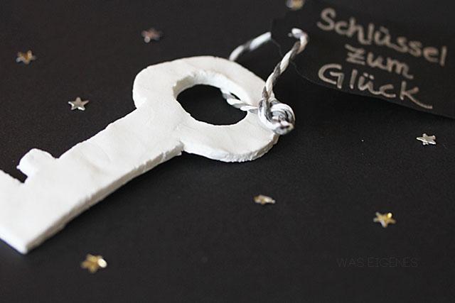 DIY Schlüssel zum Glück - Jahreswechsel 2012 2013 waseigenes.com