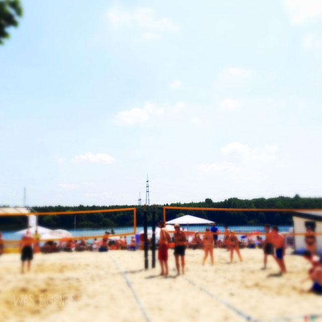 waseigenes beachvolleyball