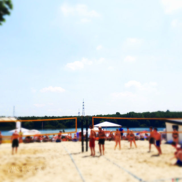 waseigenes beachvolleyball