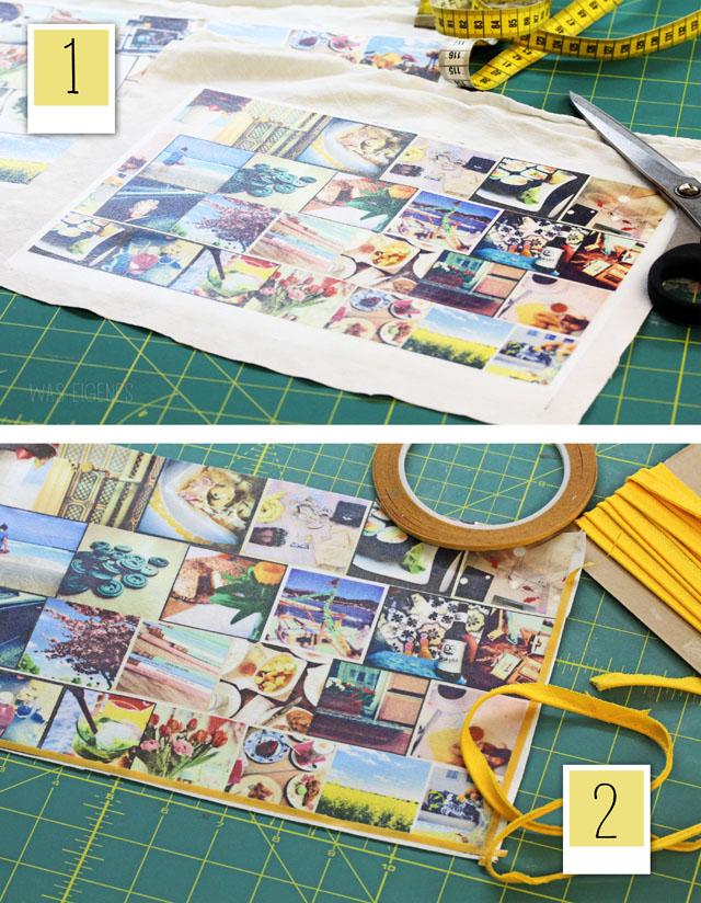 Fotografie- und Nähliebe   DIY Instagram Clutch   drucken & nähen   print & sew   Anleitung   tutorial   waseigenes.com