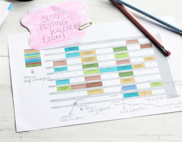 blog posting planer was eigenes blog 2