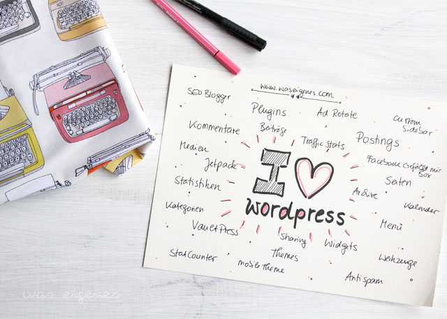 i love wordpress was eigenes blog