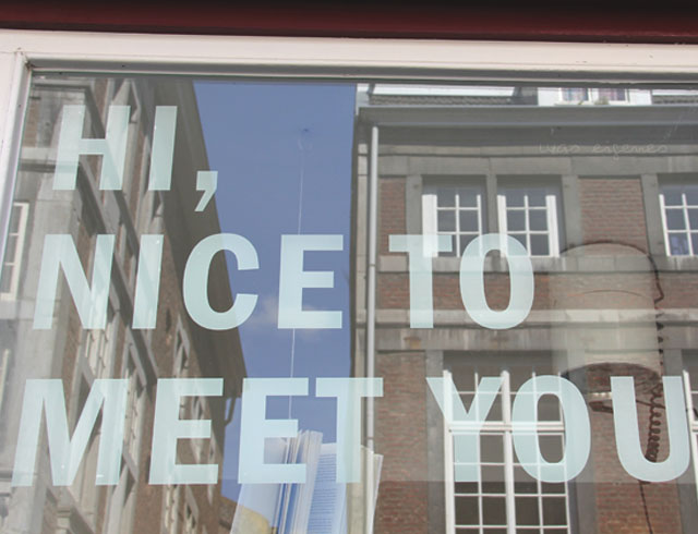 Maastricht | nice to meet you | waseigenes.com