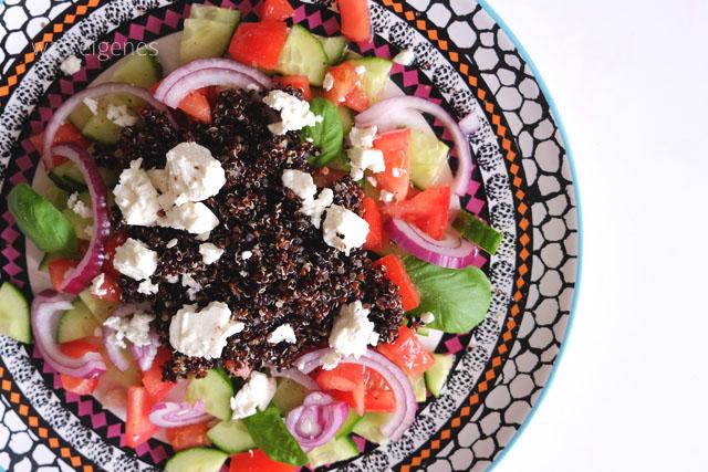 12v12 Mai 2015 / was eigenes Blog / Quinoa Salat