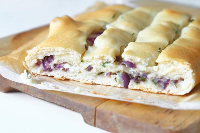 Rezept: Pizza Zwiebelbrot | was eigenes Blog