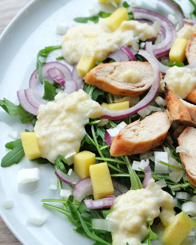 Fruchtiger Hähnchen Mango Salat | waseigenes.com