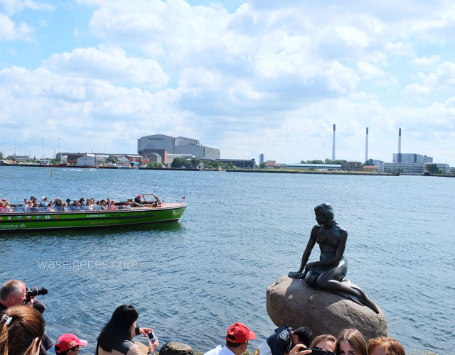 Kopenhagen | Daenemark | waseigenes.com |  Kleine Meerjunfrau